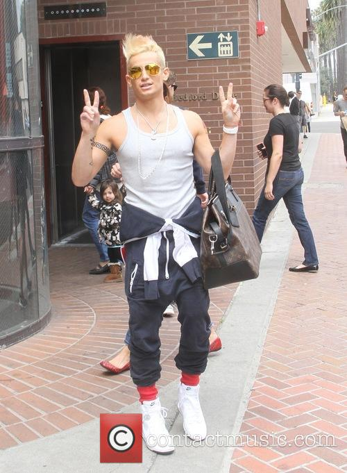 Frankie J. Grande out in Beverly Hills