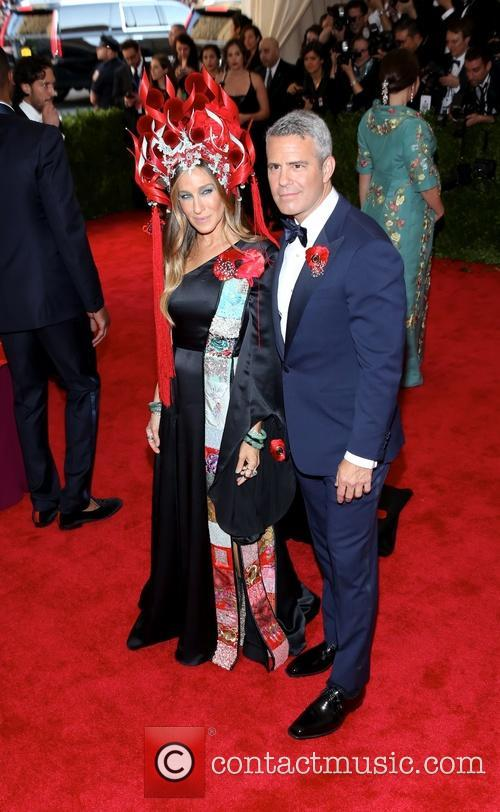 Sarah Jessica Parker and Andy Cohen 2