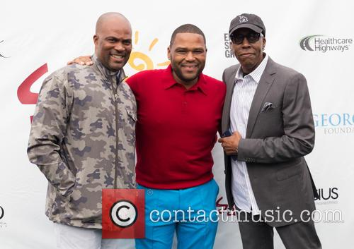 Chris Spencer, Anthony Anderson and Arsenio Hall 2