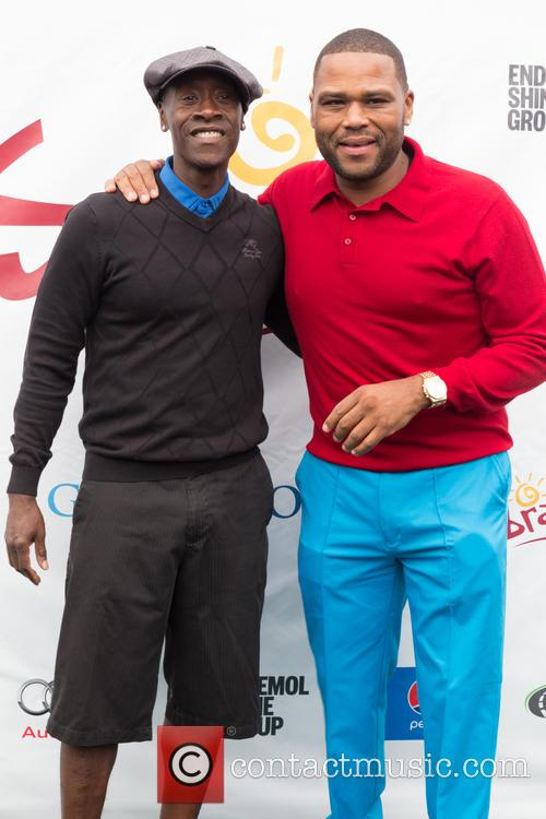 Don Cheadle and Anthony Anderson 5