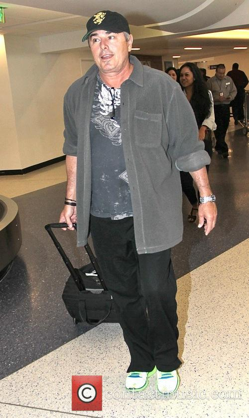Christopher Knight arrives at  Los Angeles International...