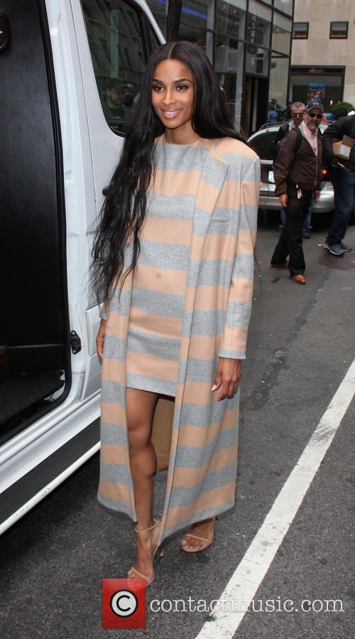 Ciara arrives at NBC's 'Today' show