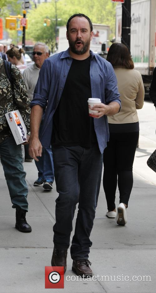 Dave Matthews out and about in New York...