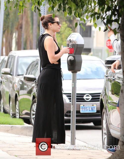 Lea Michele and Matthew Paetz 5