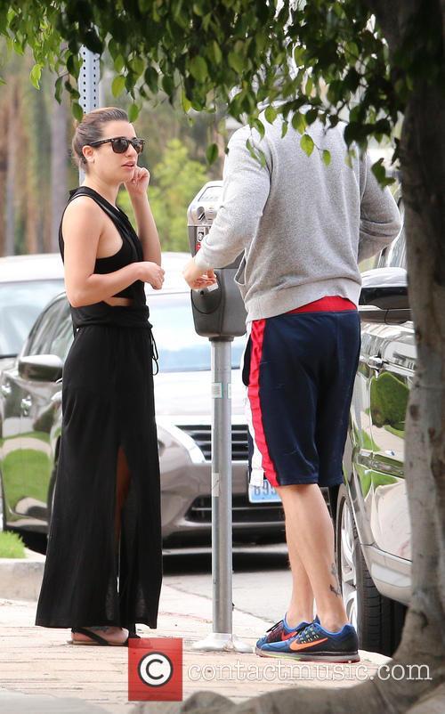 Lea Michele and Matthew Paetz 6