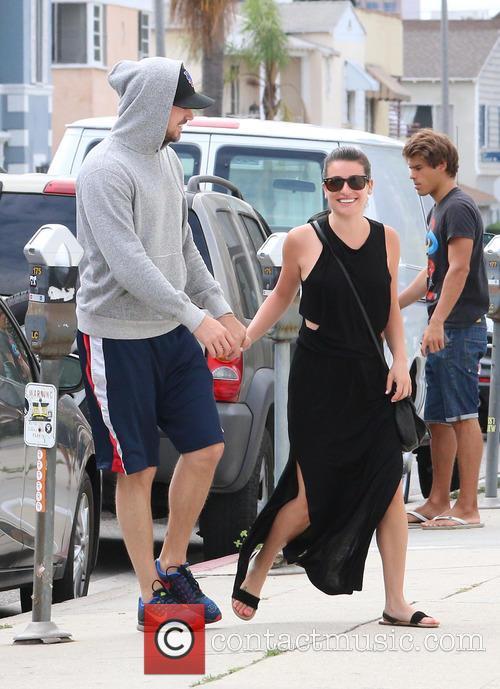 Lea Michele and Matthew Paetz 11