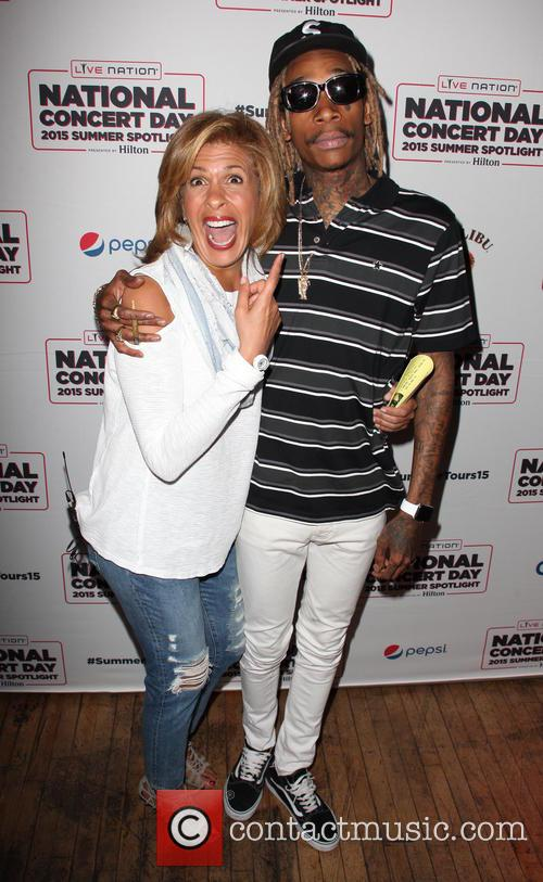 Hoda Kotb and Wiz Khalifa 2