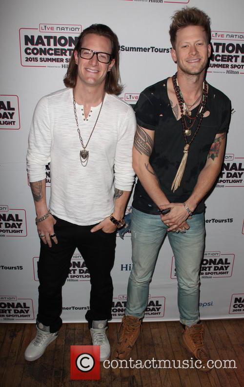 Tyler Hubbard, Brian Kelley and Florida Georgia Line 2