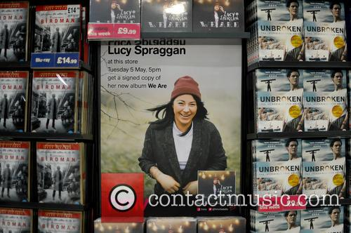 Lucy Spraggan performing live and signing copies of...