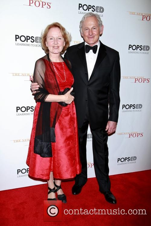 Kate Burton and Victor Garber