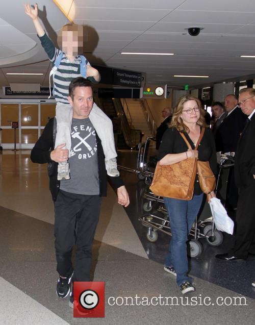 Thomas Lennon, Jenny Robertson and Oliver Lennon