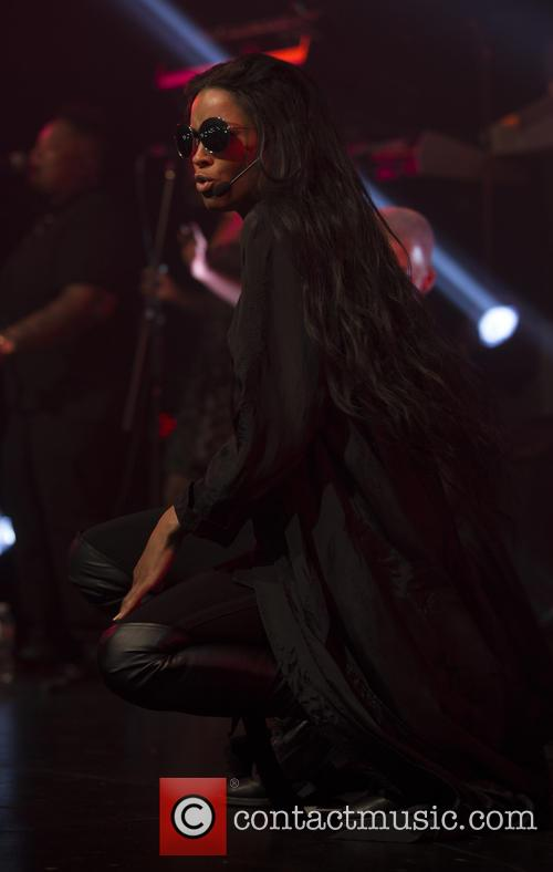 Ciara performs at Best Buy Theater