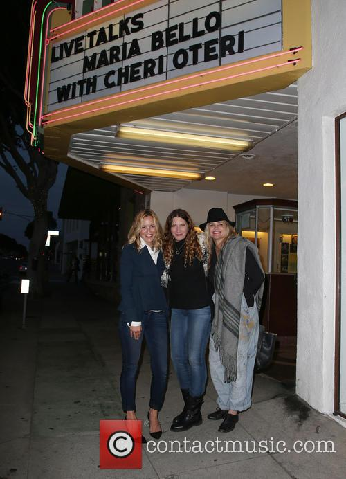 Maria Bello, Guest and Clare Munn 11