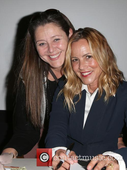 Camryn Manheim and Maria Bello