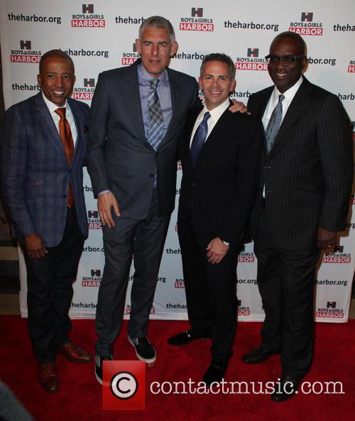 Kevin Lyles, Lyor Cohen, David Weinreb and Dr. Thomas Howard Jr. Ed.d 2