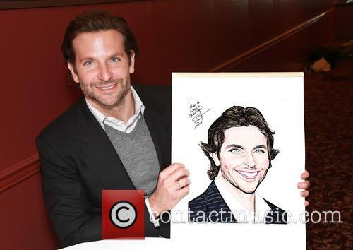 Bradley Cooper's portrait unveiling at Sardi's