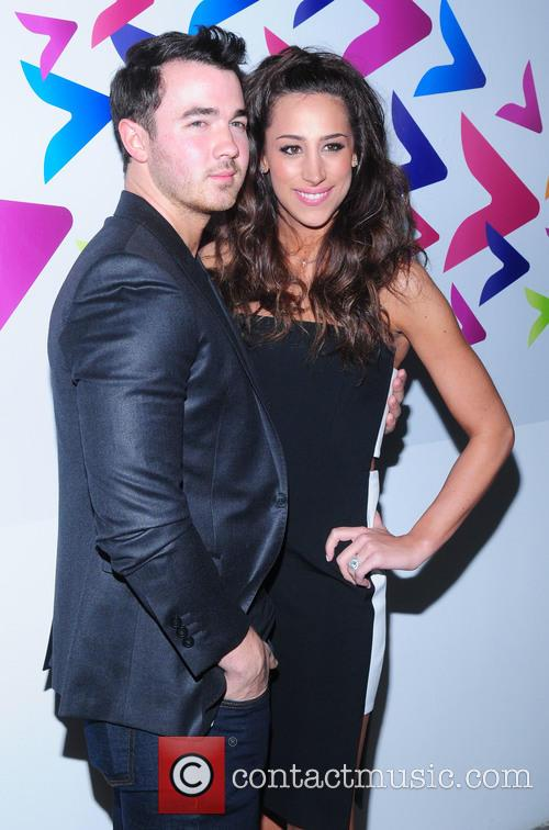 Kevin Jonas and Dani Jonas
