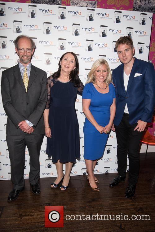 Jonathan Hellyer Jones, Jane Wilde Hawking, Lucy Hawking and Tim Hawking 5