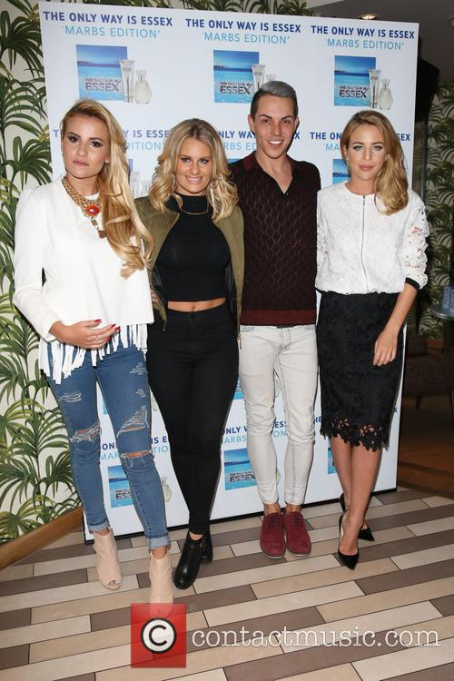 Georgia Kousoulou, Danielle Armstrong, Bobby Norris, Lydia Bright and Lydia Rose Bright 10
