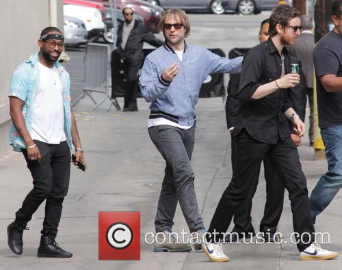 Pj Morton, Mickey Madden and Jesse Carmichael 2
