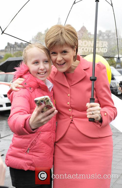 Nicola Sturgeon and Atmosphere 4