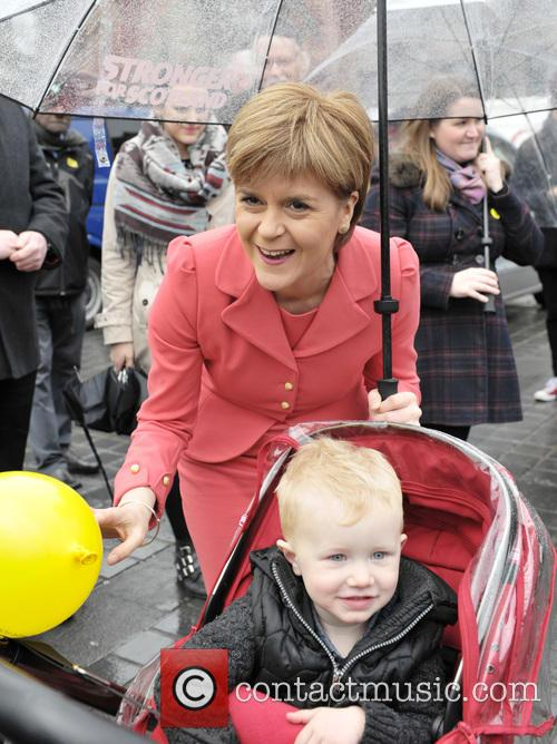 Nicola Sturgeon and Atmosphere 5