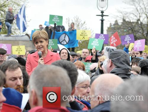 Nicola Sturgeon and Atmosphere 8