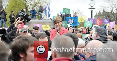 Nicola Sturgeon and Atmosphere 9