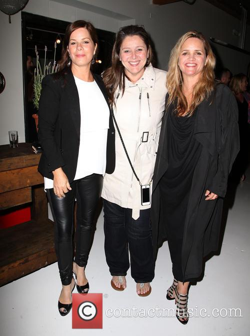 Marcia Gay Harden, Camryn Manheim and Clare Munn 2