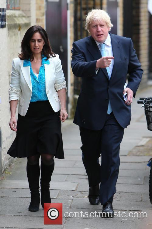 Boris Johnson and Marina Wheeler 3