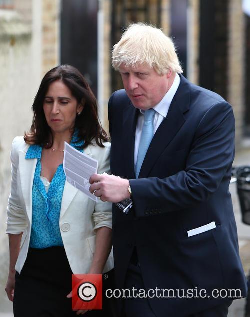 Boris Johnson and Marina Wheeler 6