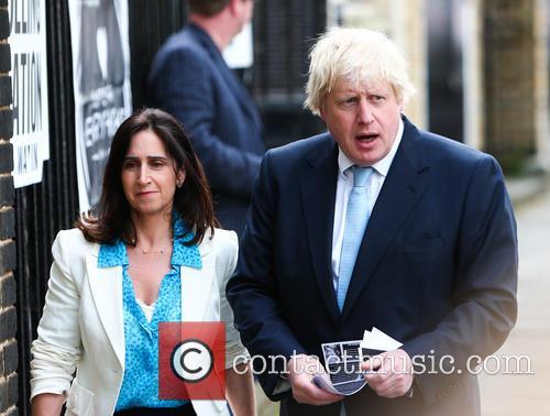 Boris Johnson and Marina Wheeler 8