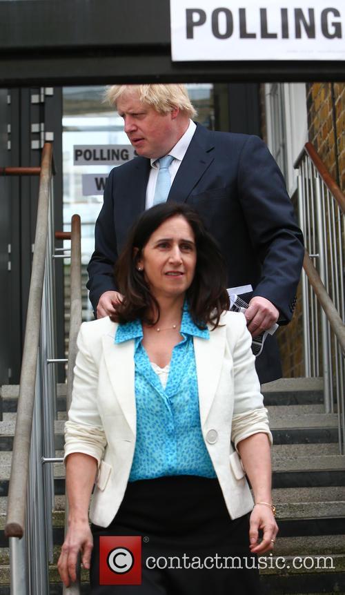 Boris Johnson and Marina Wheeler 11