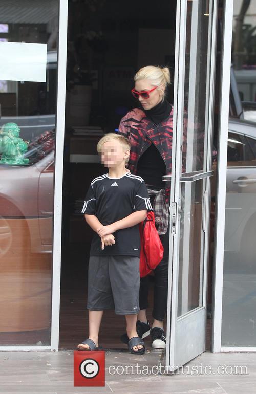 Gwen Stefani and Kingston Rossdale 3