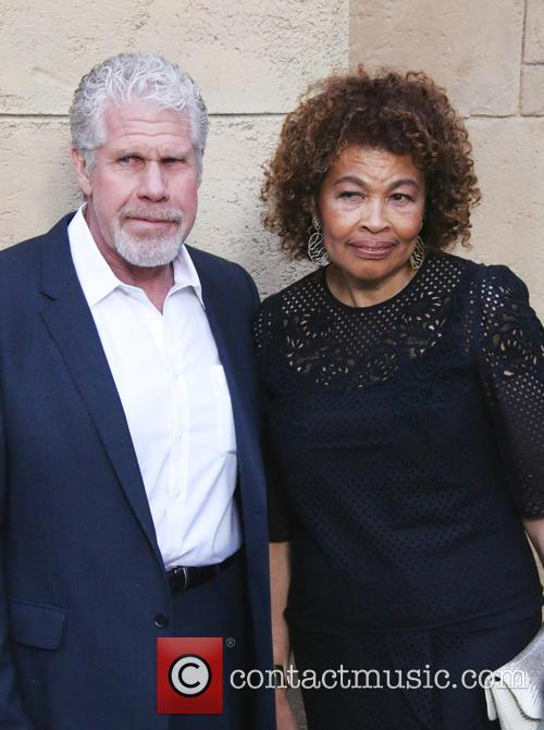 Ron Perlman and Opal Perlman 4