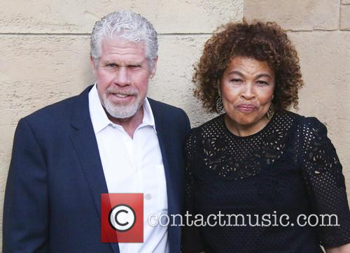 Ron Perlman and Opal Perlman 5