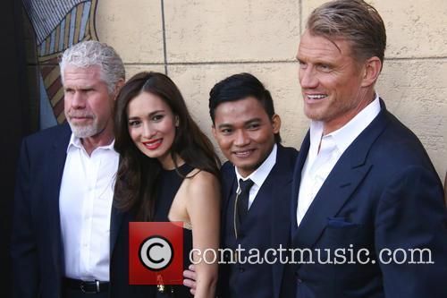 Ron Perlman, Celina Jade, Tony Jaa and Dolph Lundgren 6