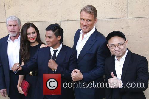 Ron Perlman, Celina Jade, Tony Jaa, Dolph Lundgren and Ekachai Uekrongtham 8