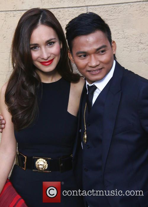 Celina Jade and Tony Jaa 2