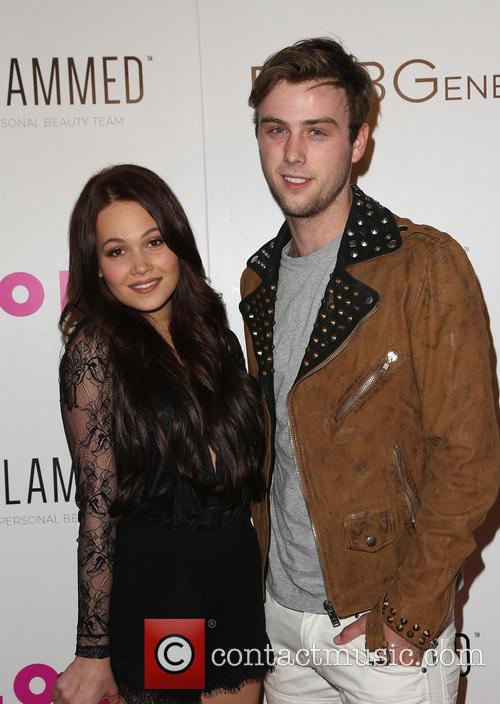 Kelli Berglund and Sterling Beaumon 1