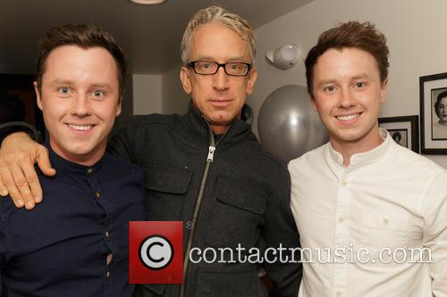 Jeffrey Postlethwaite, Andy Dick and Matthew Postlethwaite 2