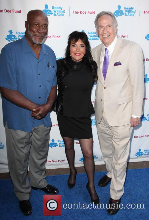 John Amos, Harriet Mcdonald and George Mcdonald 3