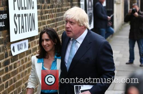 Marina Wheeler and Boris Johnson 1