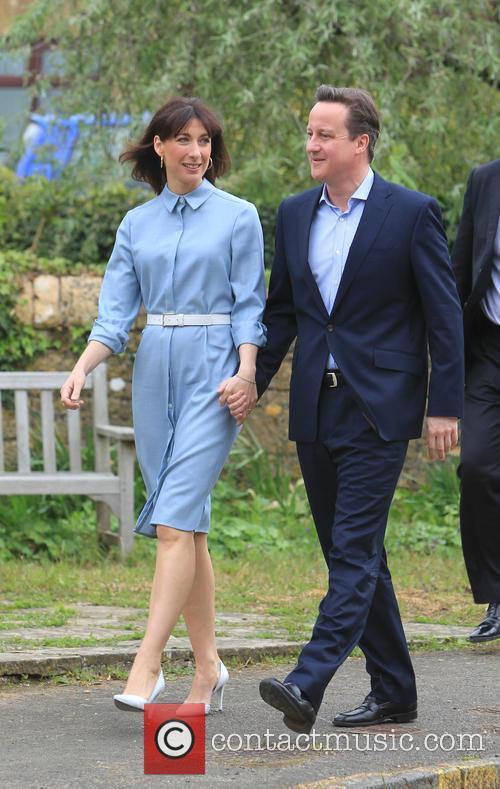 David Cameron and Samantha Cameron 4