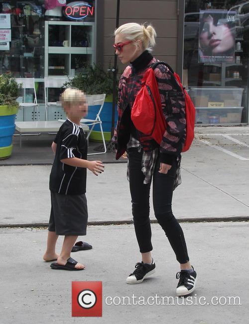 Gwen Stefani and Zuma Rossdale 1