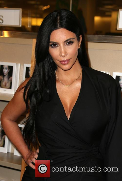 Kim Kardashian at her book signing