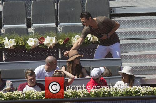 Cristiano Ronaldo, Toni Kroos and Jessica Farber 4