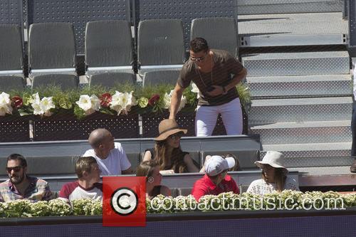 Cristiano Ronaldo, Toni Kroos and Jessica Farber 6