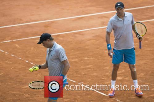 Tennis, Bob Bryan and Mike Bryan 1