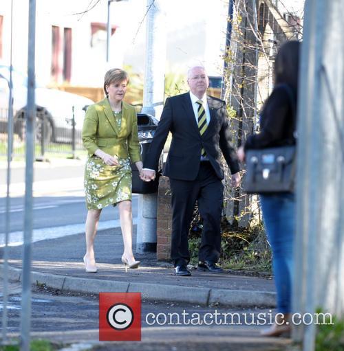 Nicola Sturgeon and Peter Murrell 2